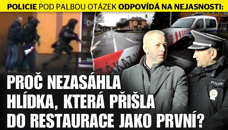 Masakr v restauraci: Policie pod palbou dotazů