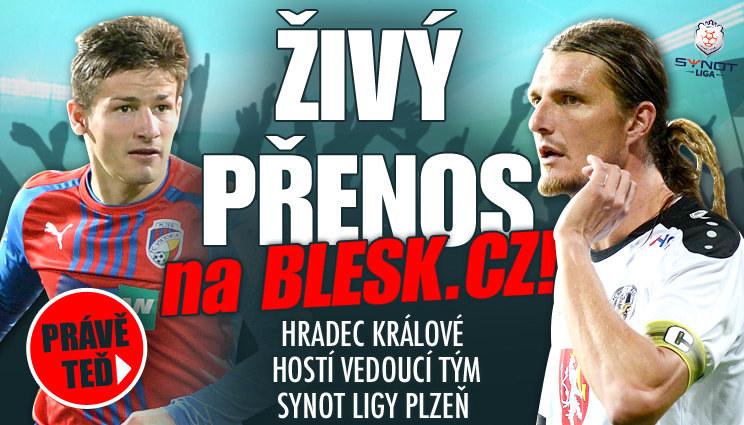 Poslední Hradec Králové hostí vedoucí Plzeň