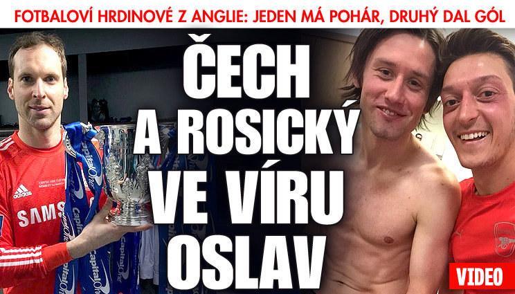 Čeští fotbalisté si vychutnali nedělní úspěchy