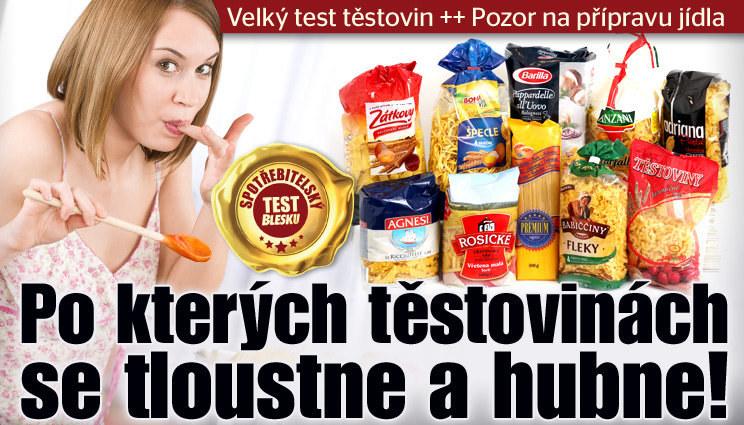 Test těstovin: Po kterých zhubnete