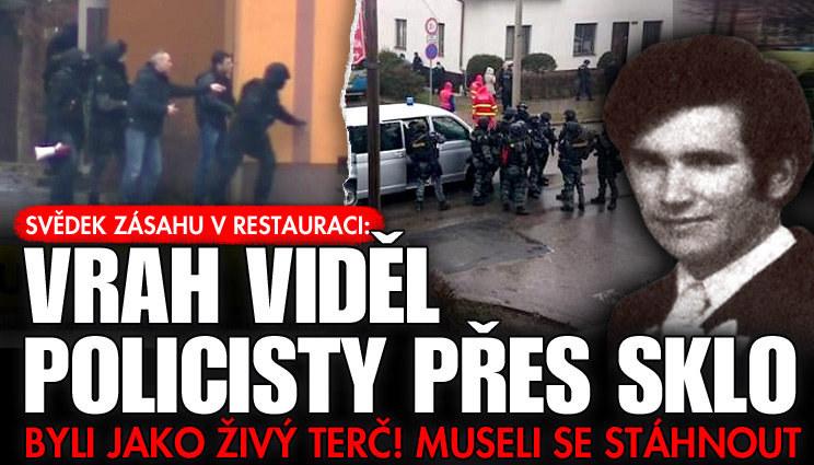 Svědek: Policisté byli živý terč