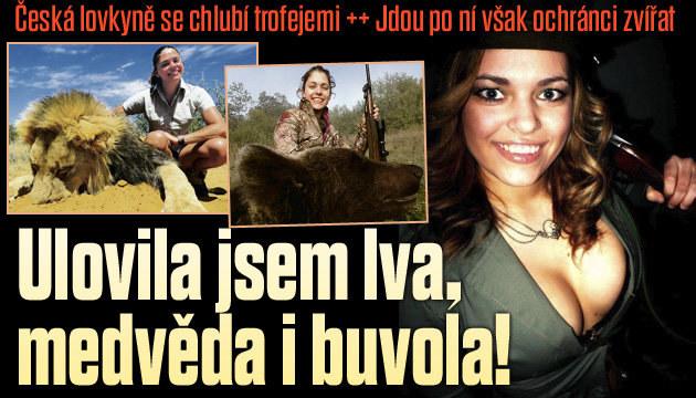 Rozhovor se sexy českou lovkyní