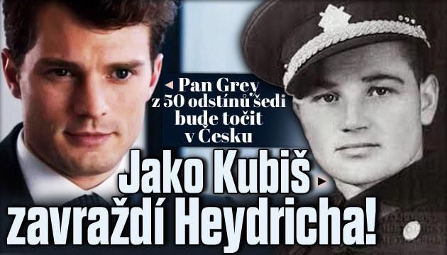 Herec z 50 odstínů šedi bude točit v Česku