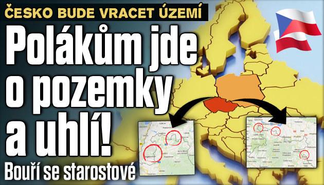 Čeští starostové: Polákům jde o lukrativní pozemky