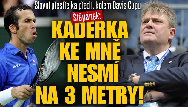 Radek Štěpánek se ostře pustil do Kaderky