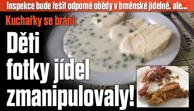 Otřesná jídla v Brněnské jídelně jsou podvod!