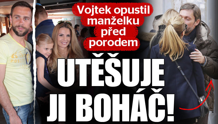 Těhotnou Terezu Vojtkovou utěšuje boháč!