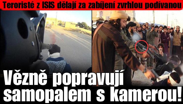 ISIS: Vězně popravují samopalem s kamerou!