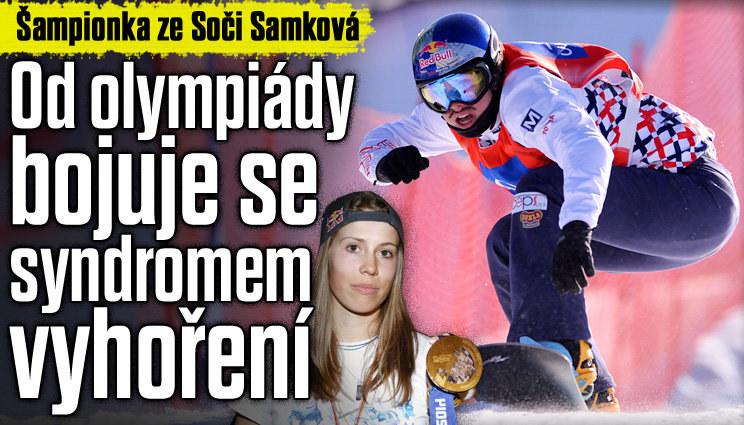 Eva Samková bojuje se syndromem vyhoření