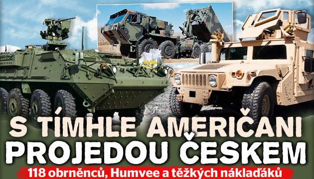Podívejte se, s čím Američani projedou Českem