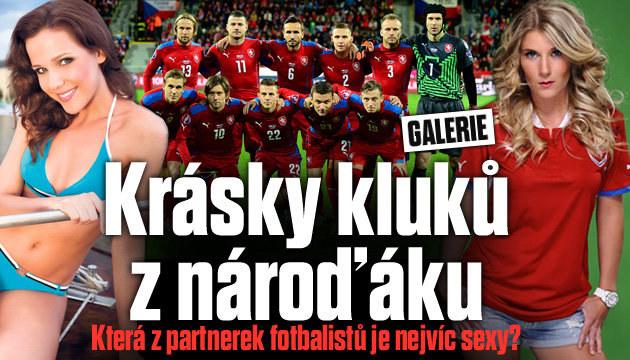 TOP 10 partnerek českých fotbalistů