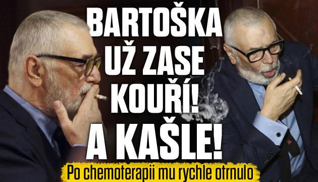 Bartoškovi po chemoterapii otrnulo
