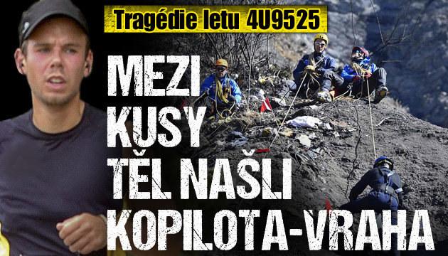 Mezi 600 kusy těl našli pilota-vraha