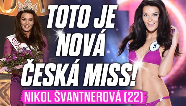 Českou Miss 2015 se stala Nikol Švantnerová