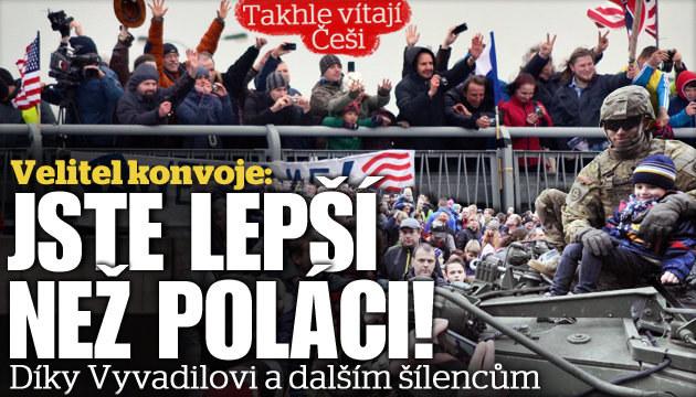 Velitel konvoje: Jste lepší než Poláci!