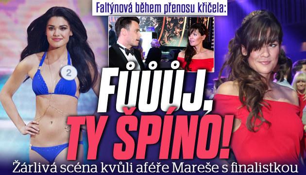 Faltýnová na novou Miss World: Je to špína!