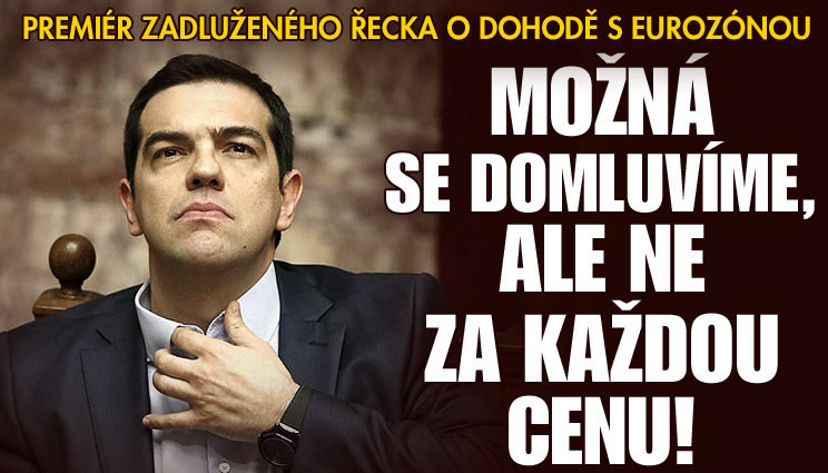 Premiér Řecka: Možná se domluvíme s eurozónou