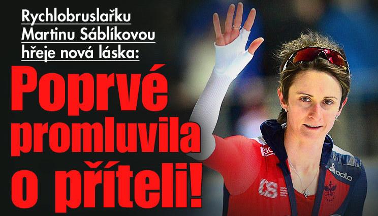 Rychlobruslařka Sáblíková poprvé promluvila o příteli