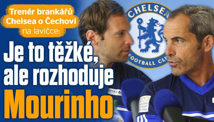 Trenér brankářů Chelsea stojí za Čechem