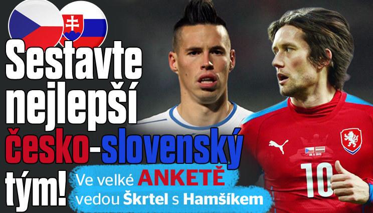 Sestavte svůj česko-slovenský tým