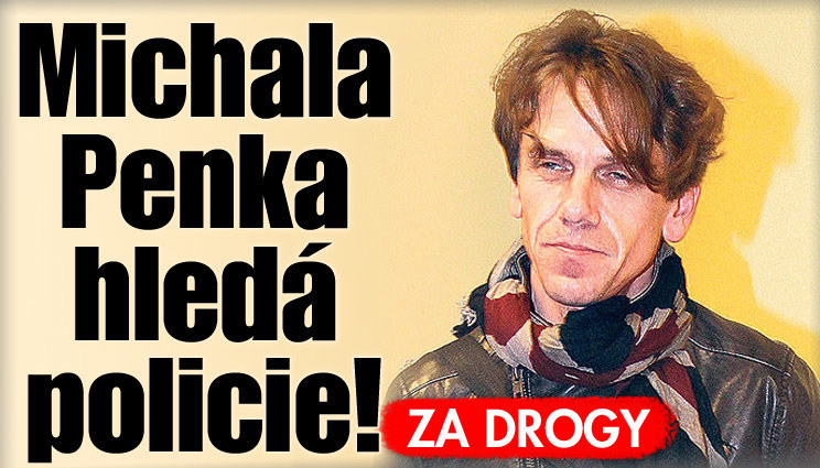 Zpěváka Michala Penka hledá policie