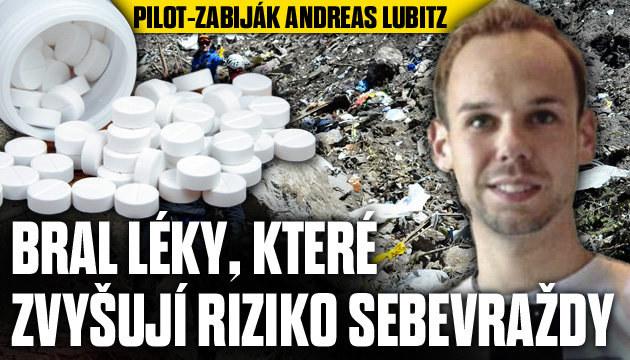 Pilot-zabiják: Bral léky, které zvyšují riziko sebevraždy