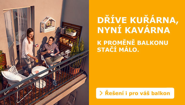 Usaďte se na balkoně