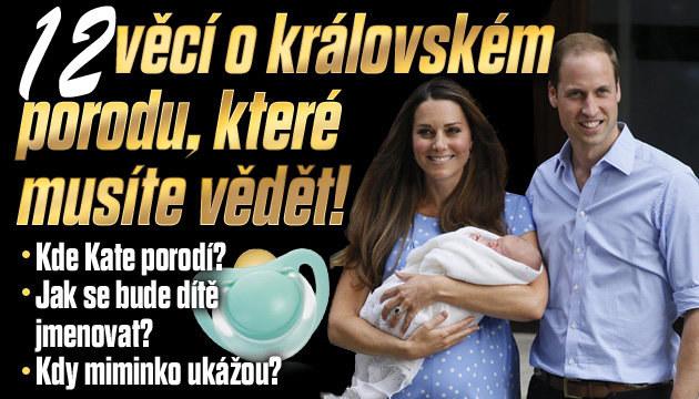12 věcí, které musíte vědět o královském porodu
