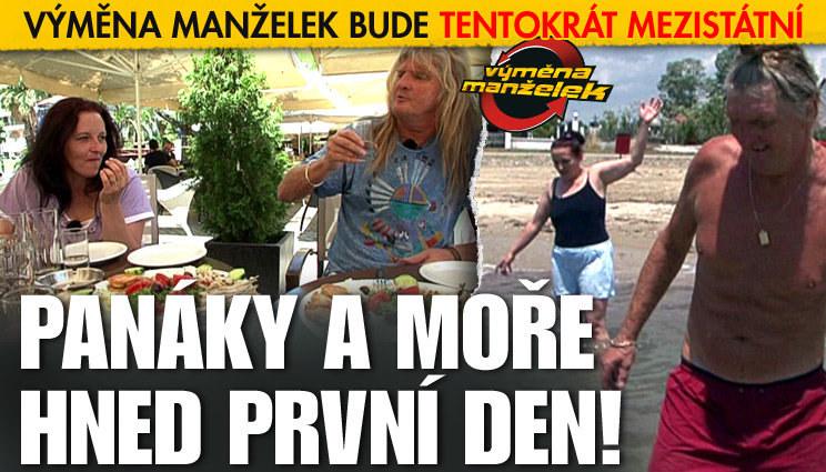 Výměna manželek: Panáky první den!