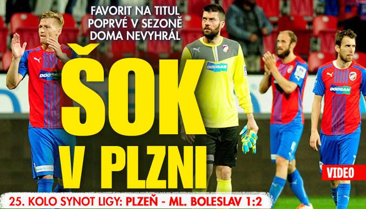 Šance pro Spartu, Plzeň doma prohrála
