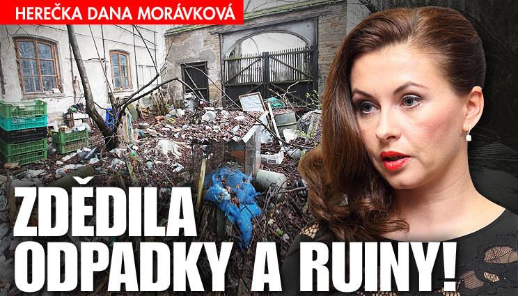 Morávková zdědila odpadky a ruiny