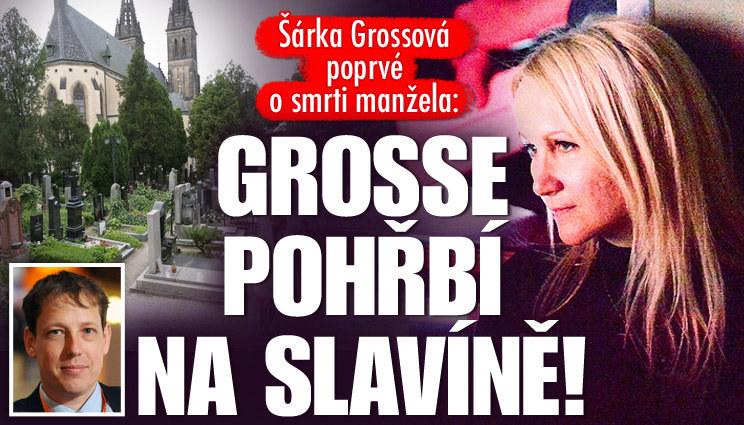 Grosse pohřbí na vyšehradském Slavíně