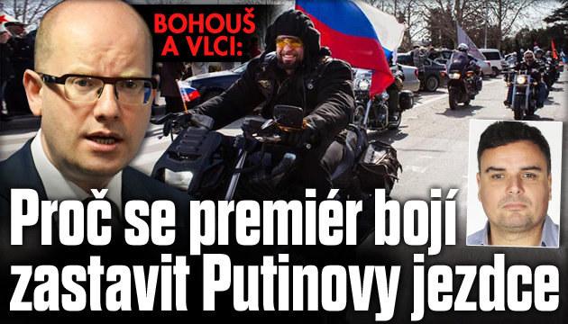 Komentář: Proč se premiér bojí zastavit Putinovy vlky