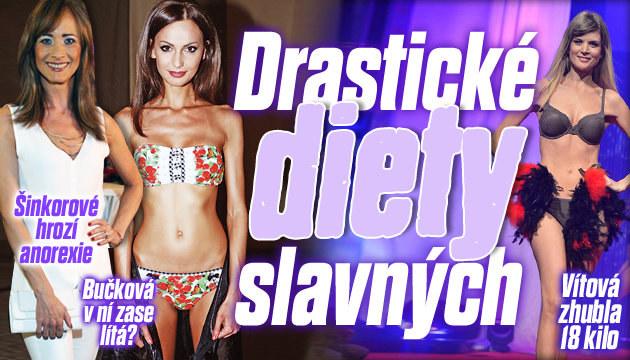 Drastické diety slavných: Komu hrozí anorexie?