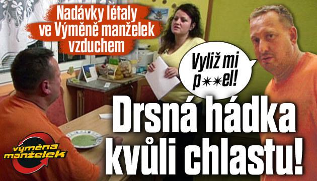 Výměna manželek: Drsná hádka kvůli chlastu!