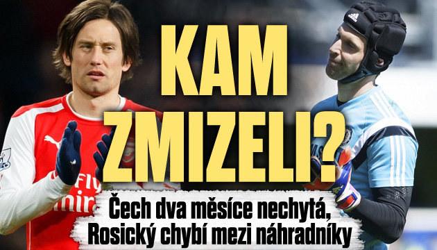Co se děje s Čechem a Rosickým?