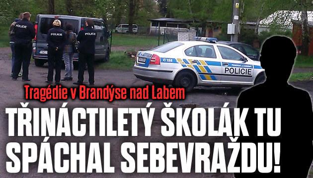 Tragédie v Brandýse nad Labem