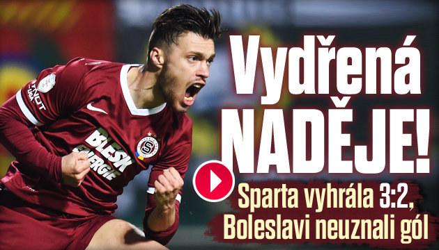 Sparta ztrácí na Plzeň tři body