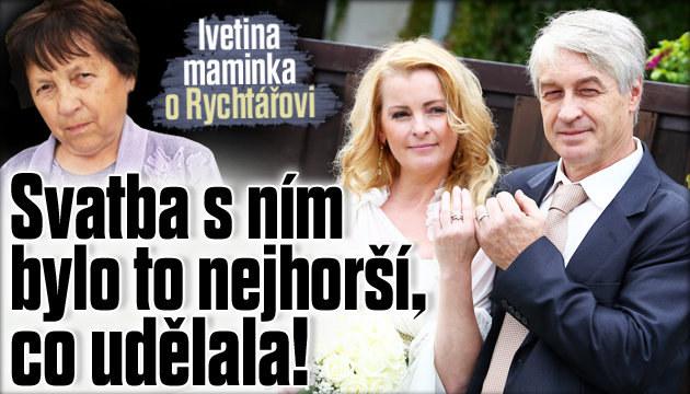 Svatba s Rychtářem bylo to nejhorší, co udělala!