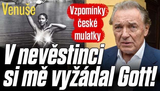 Vzpomínky české mulatky Venuše na Gotta