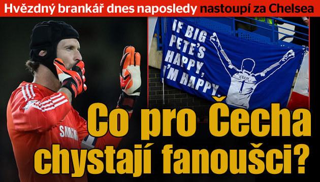 Chelsea chystá velké loučení s Petrem Čechem