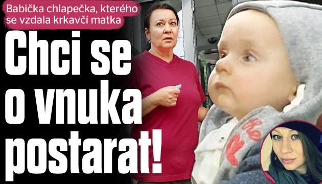 Babička chlapce, kterého se vzdala máma: Chci ho do péče!