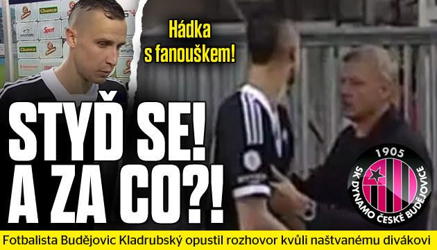 Fotbalista opustil rozhovor kvůli hádce s fanouškem!