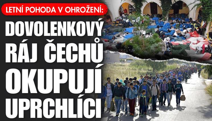 Dovolenou v Řecku vám zkazí uprchlíci