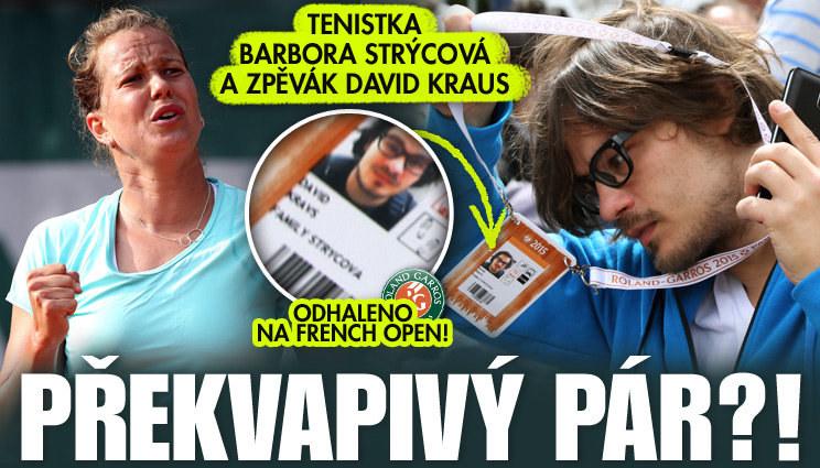 Ulovil David Kraus tenistku Strýcovou?