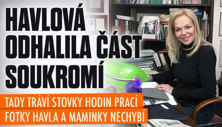 Dagmar Havlová odhalila část soukromí