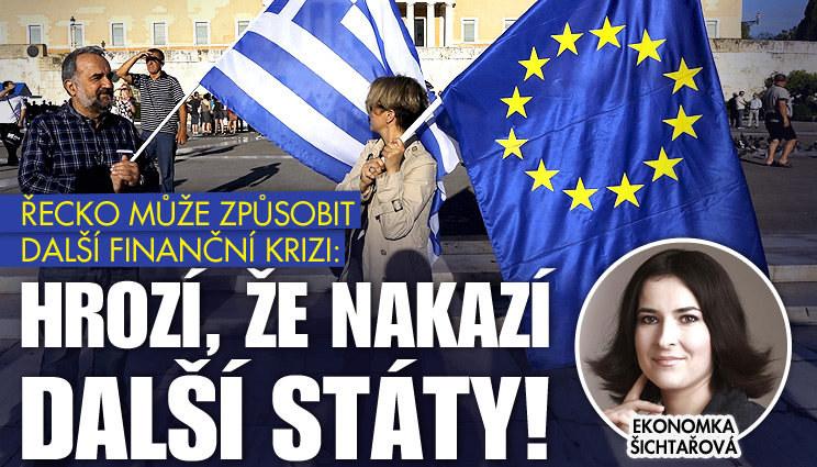 Co může způsobit bankrot Řecka