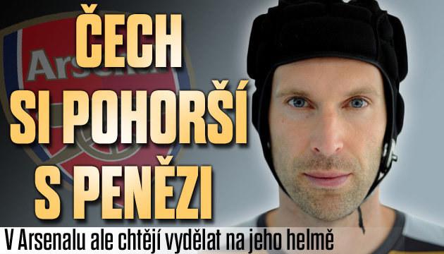 Čech dostane míň a ještě chtějí vydělat na jeho helmě!