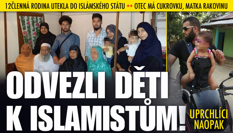 12členná rodina utekla do Islámského státu