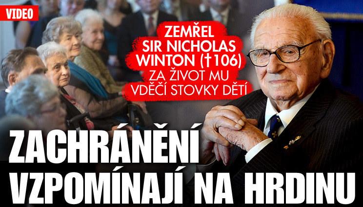 """České """"Wintonovy děti"""" vzpomínají"""